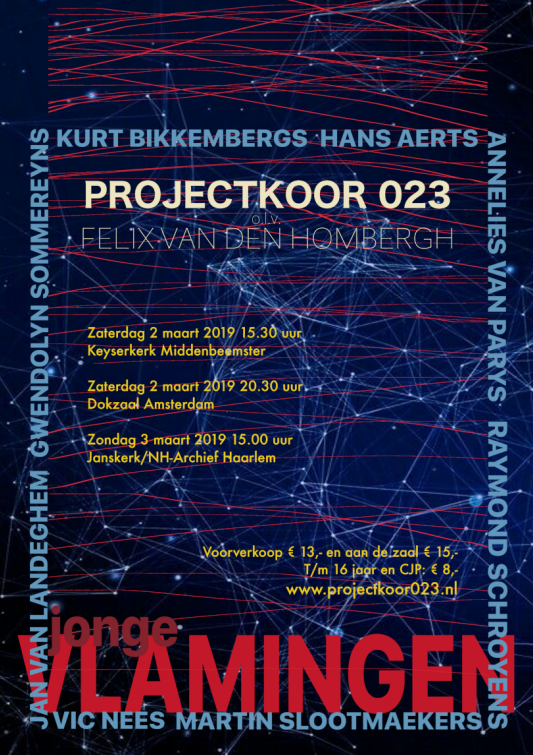 2 maart 2019 – projectkoor 023 – concert dokzaal