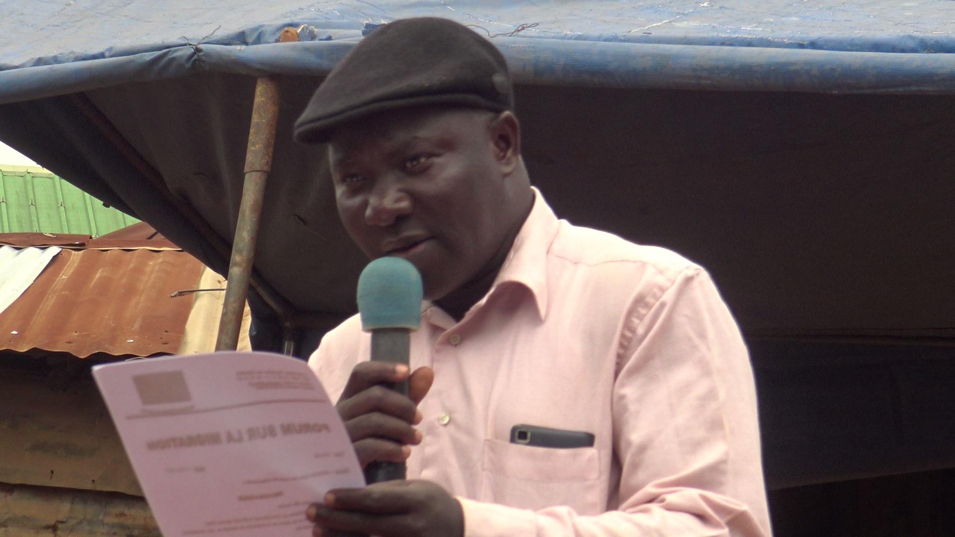 Agenda: Meeting with Aboubakari Razakou, Togolese Association of Deportees